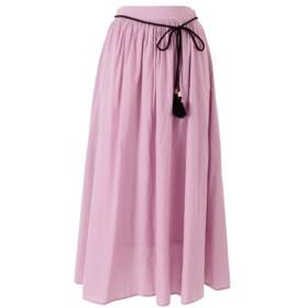 [マルイ]【セール】タッセルベルト付きコットンギャザースカート/ティティベイト(titivate)