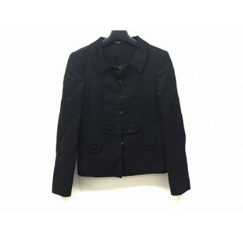 【中古】 グッチ GUCCI ジャケット サイズ38 S レディース 黒