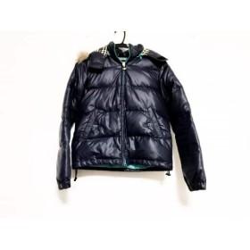 【中古】 アーノルドパーマー ARNOLD PALMER ダウンジャケット サイズ1 S レディース ネイビー 冬物
