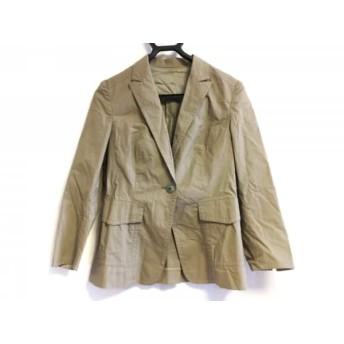 【中古】 デプレ DES PRES ジャケット サイズ1 S レディース ライトブラウン 綿