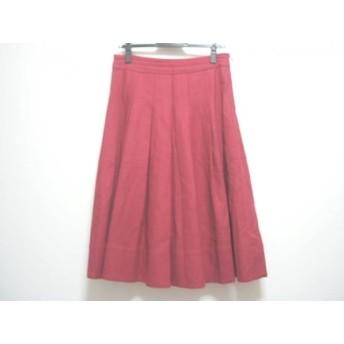 【中古】 ジェーンマープル Jane Marple スカート サイズM レディース ボルドー Dans Le Salon