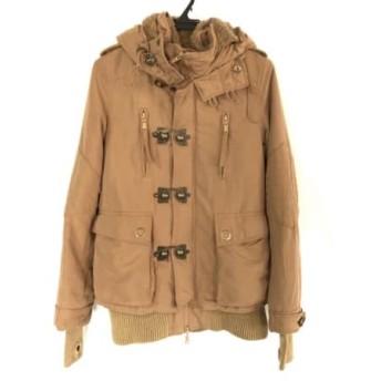 【中古】 スライ SLY コート サイズ2 M レディース ライトブラウン 冬物/N3B