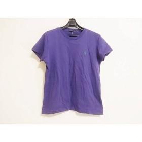 【中古】 ラルフローレン RalphLauren 半袖Tシャツ サイズL レディース パープル