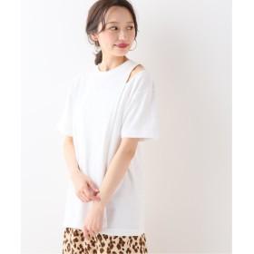 【50%OFF】 イエナ VIOLETTE ROOM ASSYMMETRY Tシャツ レディース ホワイト フリー 【IENA】 【セール開催中】