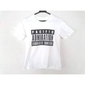 【中古】 チノ CINOH 半袖Tシャツ サイズ38 M レディース 美品 白 黒