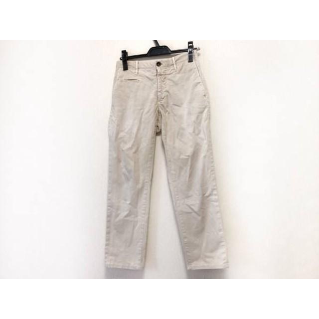 【中古】 インコテックス INCOTEX パンツ サイズ28 メンズ ベージュ