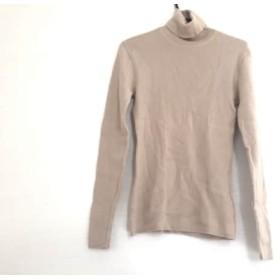 【中古】 5351プールオム 5351 PourLesHomme 長袖セーター メンズ ベージュ タートルネック