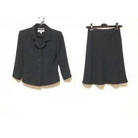 【中古】 ナチュラルビューティー NATURAL BEAUTY スカートスーツ サイズM レディース 黒
