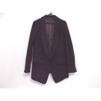 【中古】 トゥレドゥアンサンブル tous les deux ensemble コート サイズ36 S レディース 黒