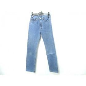 【中古】 リーバイス LEVI'S パンツ サイズW28L36 レディース ブルー