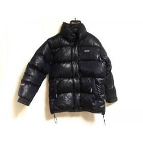 【中古】 アウトドア OUTDOOR ダウンジャケット サイズM メンズ ダークネイビー 冬物