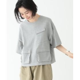 BEAMS BOY / カナディアン ポケットT レディース Tシャツ GREY ONE SIZE