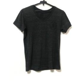 【中古】 クロムハーツ Chrome hearts 半袖Tシャツ サイズM メンズ ダークグレー Vネック