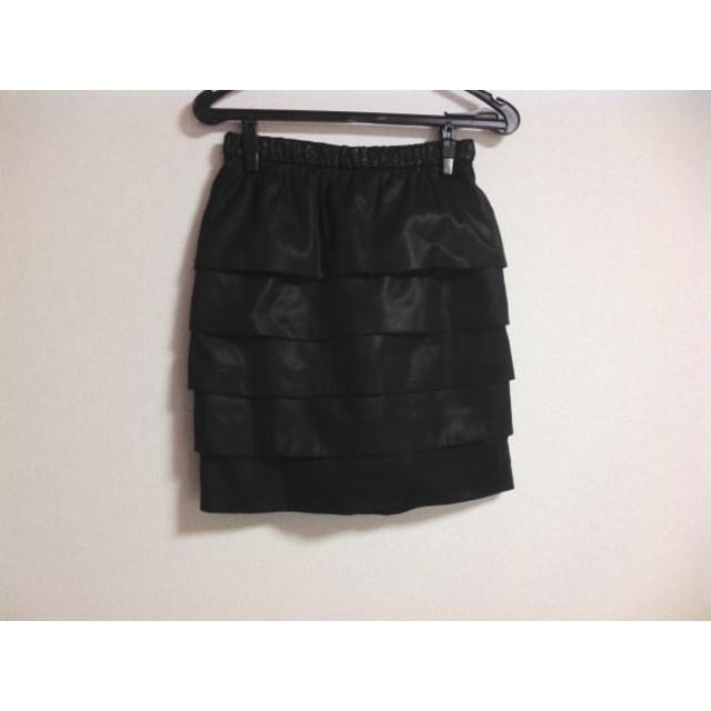 【中古】 ボディドレッシングデラックス BODY DRESSING Deluxe スカート サイズ34 S レディース 黒