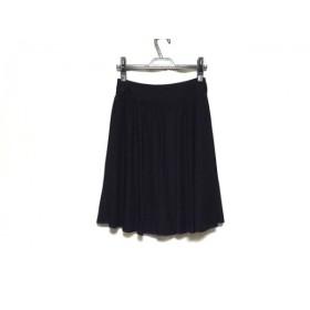 【中古】 ナラカミーチェ NARACAMICIE スカート サイズ0 XS レディース ネイビー