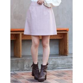 dazzlin ギンガムチェックミニ台形スカート