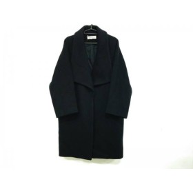 【中古】 エンフォルド ENFOLD コート サイズ36 S レディース 黒 冬物