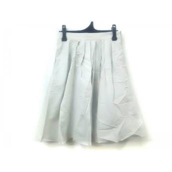 【中古】 ボールジー BALLSEY スカート サイズ36 S レディース ライトグレー