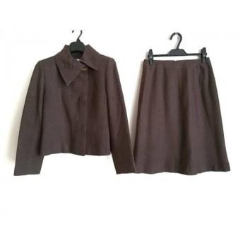 【中古】 クロエ Chloe スカートスーツ サイズ40 M レディース ダークブラウン COLLECTION