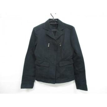 【中古】 グッチ GUCCI ジャケット サイズ40 M レディース 黒