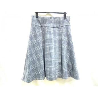 【中古】 ノーブランド スカート サイズLL レディース グレー