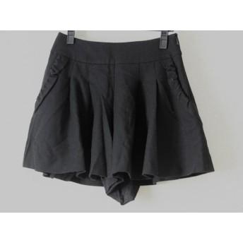 【中古】 ボンメルスリー Bon mercerie ショートパンツ サイズ38 M レディース 黒