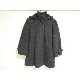 【中古】 ロートレアモン LAUTREAMONT コート サイズ38 M レディース グレー 冬物