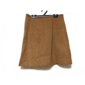 【中古】 トゥモローランド TOMORROWLAND スカート サイズ38 M レディース ブラウン