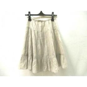 【中古】 ビューティアンドユース ユナイテッドアローズ スカート サイズ確認できず レディース ベージュ