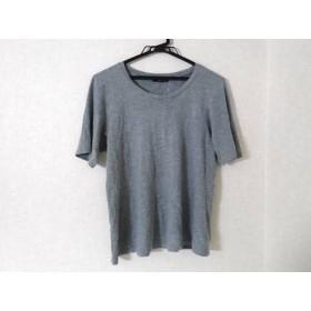 【中古】 ワイズフォーリビング Y's for living 半袖Tシャツ レディース グレー