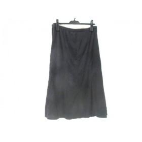 【中古】 ノーブランド スカート サイズ11 M レディース ブラック