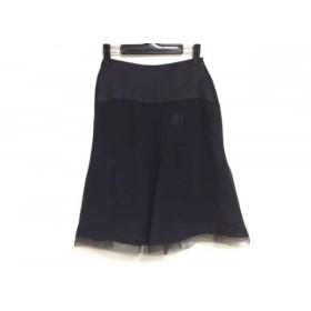 【中古】 アンテプリマ ANTEPRIMA スカート サイズ40 M レディース 黒