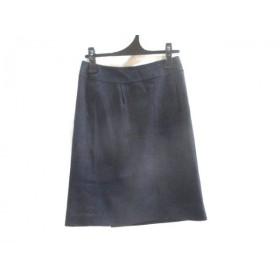 【中古】 ケティ KETTY スカート サイズ2 M レディース ネイビー