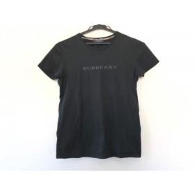 【中古】 バーバリーロンドン Burberry LONDON 半袖Tシャツ サイズ1 S レディース 美品 黒