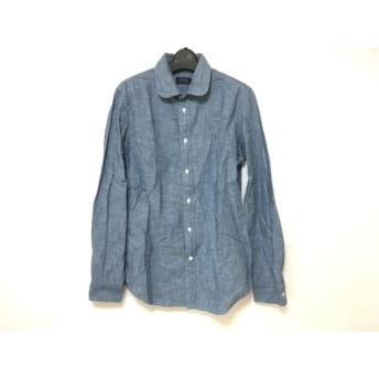 【中古】 ポロラルフローレン POLObyRalphLauren 長袖シャツ サイズ8 メンズ ブルー