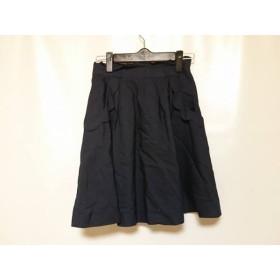【中古】 アプワイザーリッシェ Apuweiser-riche スカート サイズ0 XS レディース ダークネイビー