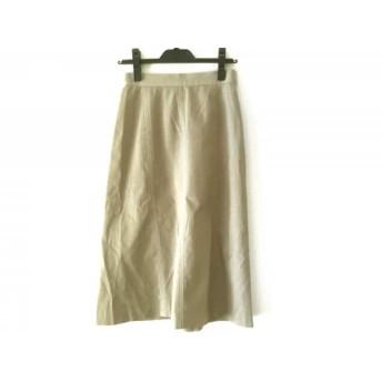 【中古】 ジユウク 自由区/jiyuku スカート サイズ36 S レディース サンドブラウン