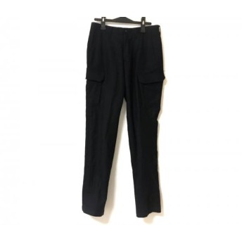 【中古】 トゥモローランド TOMORROWLAND パンツ サイズ46 XL メンズ 黒