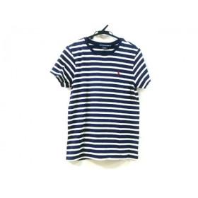 【中古】 ラルフローレンスポーツ 半袖Tシャツ サイズXL XL メンズ ネイビー ホワイト