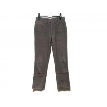【中古】 トゥモローランド TOMORROWLAND パンツ サイズ46 XL メンズ ベージュ