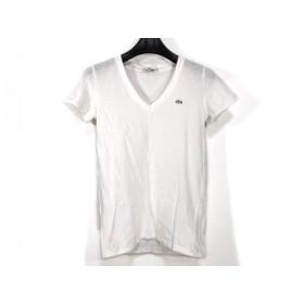 【中古】 ラコステ Lacoste 半袖Tシャツ サイズ34 S レディース 白