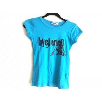 【中古】ヒステリックグラマー HYSTERIC GLAMOUR 半袖Tシャツ サイズF レディース ライトブルー