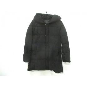 【中古】 リップスター LIPSTAR ダウンコート サイズ2 M レディース 黒