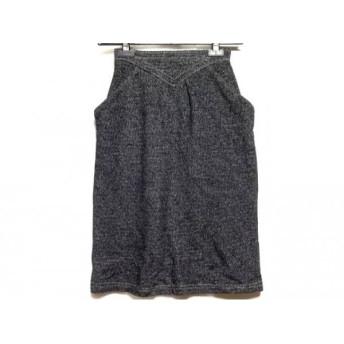 【中古】 ヒロココシノ HIROKO KOSHINO スカート サイズ63-90 レディース グレー 白