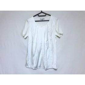 【中古】 ダブリュービー wb 半袖カットソー サイズ38 M レディース 美品 白