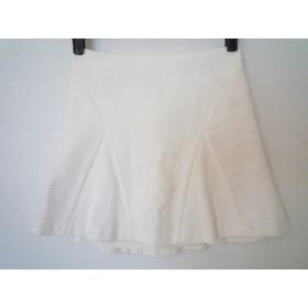 【中古】 ジルスチュアート JILL STUART スカート サイズ0 XS レディース 白
