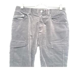 【中古】 ニジュウサンク 23区 パンツ サイズ32 XS レディース ダークブラウン ベロア/カーゴ