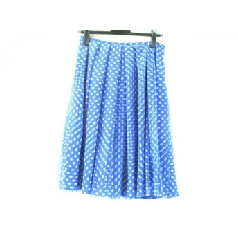 【中古】 イエナ IENA スカート サイズ40 M レディース ブルー ホワイト