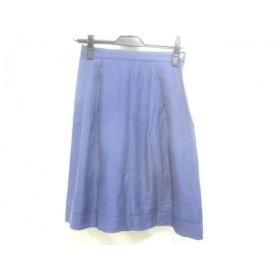 【中古】 バーニーズ BARNEYSNEWYORK スカート サイズ36 S レディース ブルー