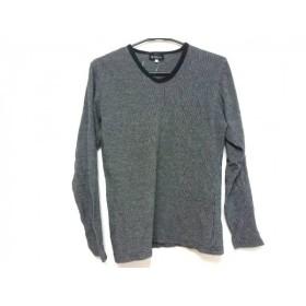 【中古】 ザ ショップ ティーケー THE SHOP TK (MIXPICE) 長袖Tシャツ サイズ3 L メンズ 黒 白